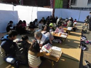 生駒組餅つき大会IN合歓木02